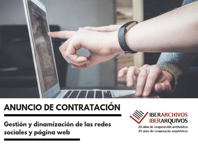 ANUNCIO DE CONTRATACION