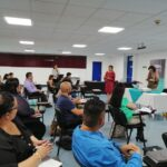 Inauguración del curso, se destaca la presencia de la señora Carmen Campos R., Subdirectora General del Archivo Nacional 2