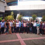 fotos grupales de los participantes al curso incluyendo a la señora Carlota Bustelo R.- 22