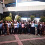 fotos grupales de los participantes al curso incluyendo a la señora Carlota Bustelo R.- 24
